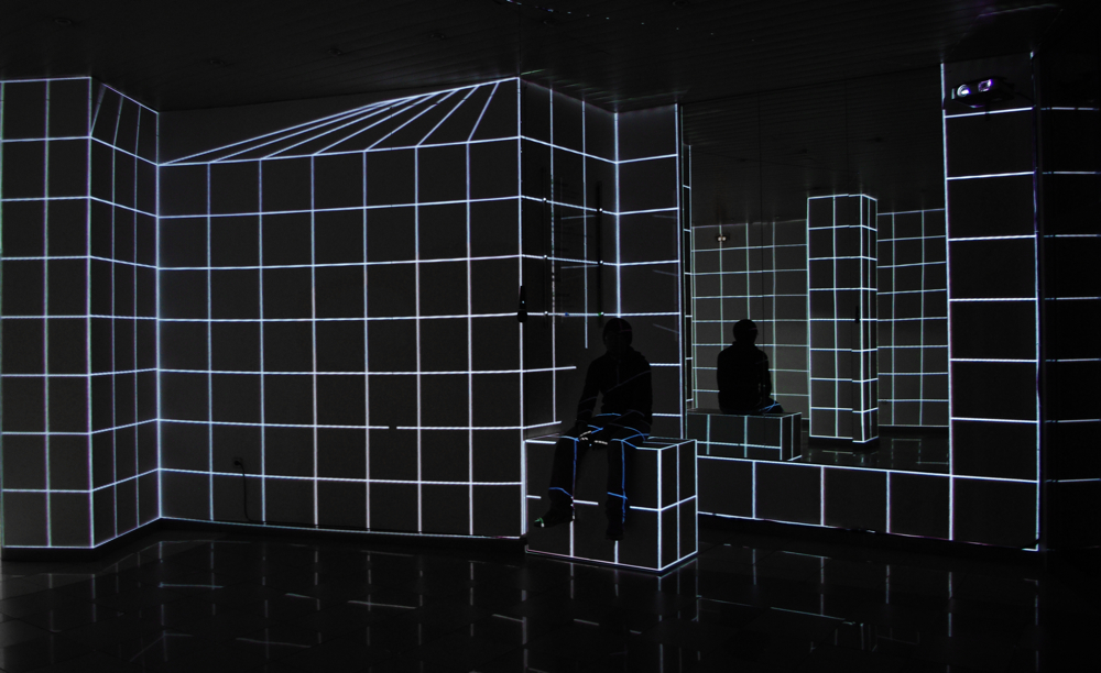 Quadrature – Simple audio reactive installation